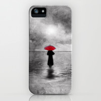 waiting in the sea (II) iPhone & iPod Case by Viviana González