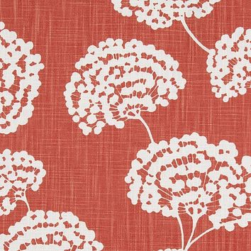 Robert Allen Fabric 240332 Toile Stems Coral