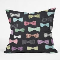 Mary Beth Freet Bow Ties Throw Pillow