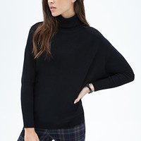 FOREVER 21 Turtleneck Dolman Sweater