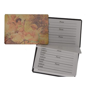 Credit Card Size Address Book Accordion Style with Magnetic Closure