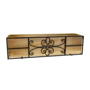 "36"" Quatrefoil Window Box"