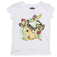 The Lion Guard Toddler Girls' Group Short Sleeve T-Shirt - White : Target