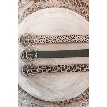 Show Me Your Wild Side CG Belts