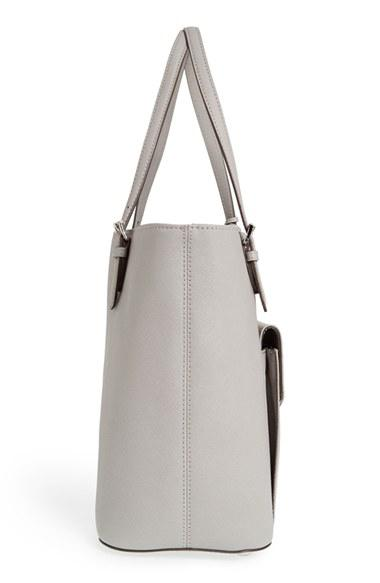 22a224bb3 MICHAEL Michael Kors 'Jet Set - Large' Saffiano Leather Snap Pocket Tote ( Nordstrom Ex
