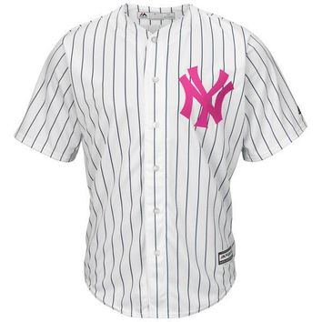New York Yankees Cool Base MLB Custom Mothers Day Jersey