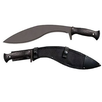 Cold Steel Kukri Plus Machete with Sheath, Black