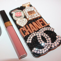 Design: Full Bling Cha Nel Lover Case