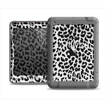 The Vector Leopard Animal Print Apple iPad Mini LifeProof Nuud Case Skin Set