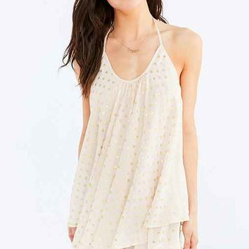 Out From Under Tiered Halter Slip