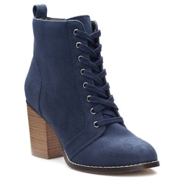 Candie's® Couture Women's Block Heel Ankle Boots   null