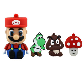 Super Mario Bros USB Flash Drive 4GB, 8GB, 16GB, 32GB, and 64GB