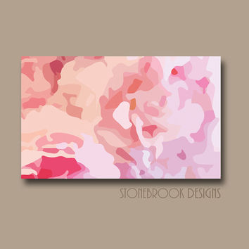 Shop Large Flower Paintings On Canvas on Wanelo