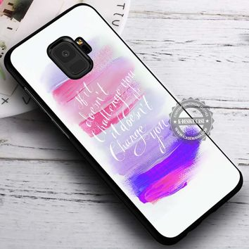 If It Doesnt Brushstrokes Pink iPhone X 8 7 Plus 6s Cases Samsung Galaxy S9 S8 Plus S7 edge NOTE 8 Covers #SamsungS9 #iphoneX