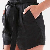 BDG Paperbag High-Rise Short - Urban Outfitters
