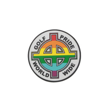 GOLF PRIDE WORLDWIDE STICKER 3""
