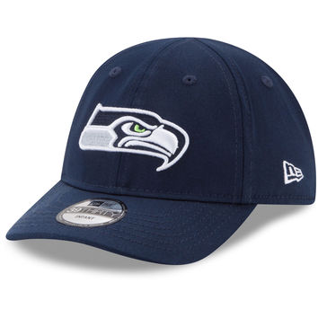 Infant Seattle Seahawks New Era College Navy My 1st 39THIRTY Flex Hat