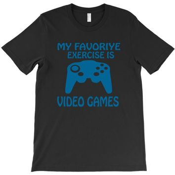 my favorite exercise is video games T-Shirt