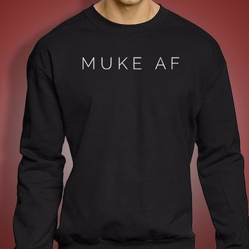 Muke Af 5 Seconds Of Summer Michael Clifford Luke Hemmings Band Men'S Sweatshirt