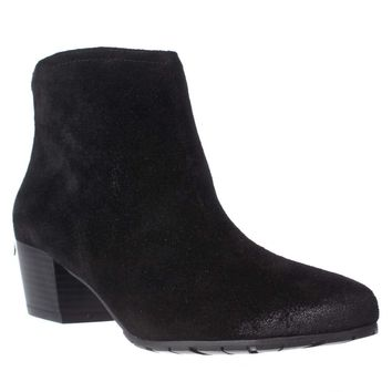 Kenneth Cole REACTION Pil Age Ankle Booties, Black, 9.5 US / 40.5 EU
