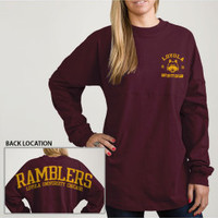 Loyola University Chicago Ramblers Women's Long Sleeve T-Shirt | Loyola University Chicago Lakeshore Campus