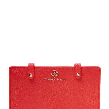 Kendra Scott Jewelry Women's Jet Set Jewelry Organizer - Red