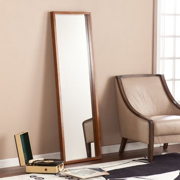 Harper Blvd Jenson Dark Tobacco Leaning Mirror | Overstock.com Shopping - The Best Deals on Mirrors