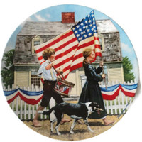 Fourth Of July Collectible Plate By Knowles