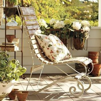 Berkshire Garden Chair | Pottery Barn