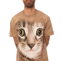 The Mountain Tee Kitten Face Tee in Grey