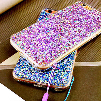 Unique Shine Case Cover for iPhone 6 6s Plus Gift 423