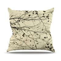 "Iris Lehnhardt ""Boughs Neutral"" Throw Pillow"