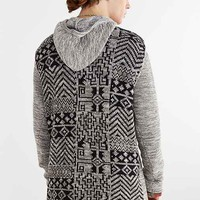 Koto Funnel Neck Hooded Sweater- Dark Grey