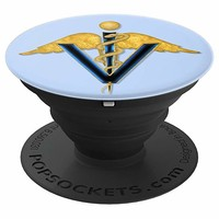 Caduceus Veterinarian Doctor PopSocket Grip - PopSockets Grip and Stand for Phones and Tablets