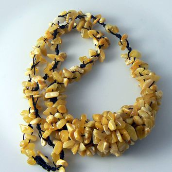 Genuine Vintage Baltic Amber Necklace