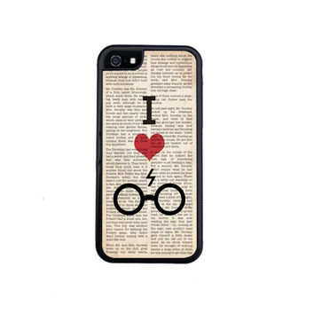 I Heart Harry Potter Phone Case Design For The iPhone 6 or iPhone 6 Plus. Choose Rubber or Plastic.