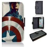 Captain America 2 | wallet case | iPhone 4/4s 5 5s 5c 6 6+ case | samsung galaxy s3 s4 s5 s6 case |
