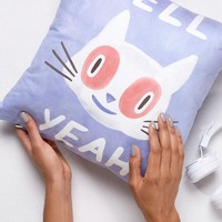 Evie May Adams Hell Yeah Cushion at asos.com