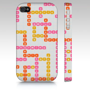 Crossword Positivity Phone Case
