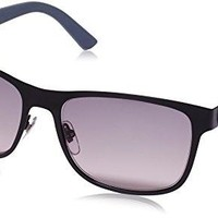 Gucci sunglasses GG 2247/S 4VAEU Metal Matt Black - Grey Grey Gradient