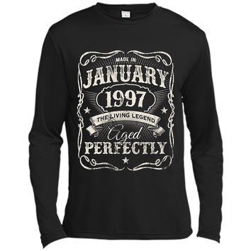 Legends Were Born In January 1997 Shirt 21st Birthday Gift