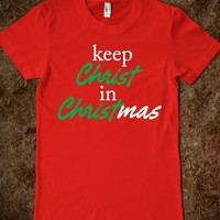 Keep Christ in Christmas(DARK)