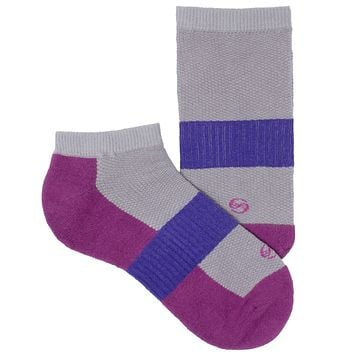 Women's Socks No Show Performance Comfortable Athletic Sport Durable Sock Magenta