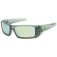 Oakley Gascan Sunglasses Crystal Black/Emerald Iridium One Size For Men 17924710001