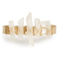 Women's Sole Society Quartz Cuff - Quartz