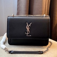 YSL 2020 New Women's Chain Bag Small Square Bag Shoulder Bag Messenger Bag