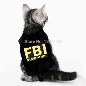 FBI Pet Shirt