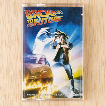 Various Artists - Back To The Future Soundtrack Cassette Tape - Urban Outfitters
