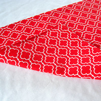 """3 ft. Table Runner - 12"""" x 36"""" - Red - Everyday, Wedding - Reversible Table Topper"""