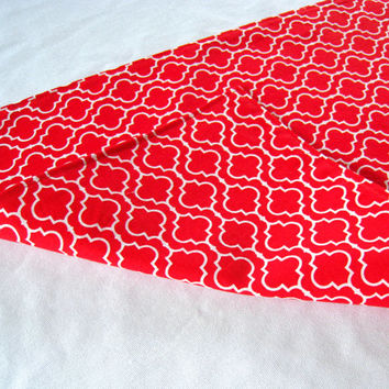 "3 ft. Table Runner - 12"" x 36"" - Red - Everyday, Wedding - Reversible Table Topper"